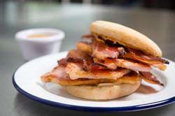 Social Eatery_peameal bacon stack