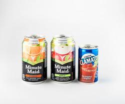 Swoop_juice cans