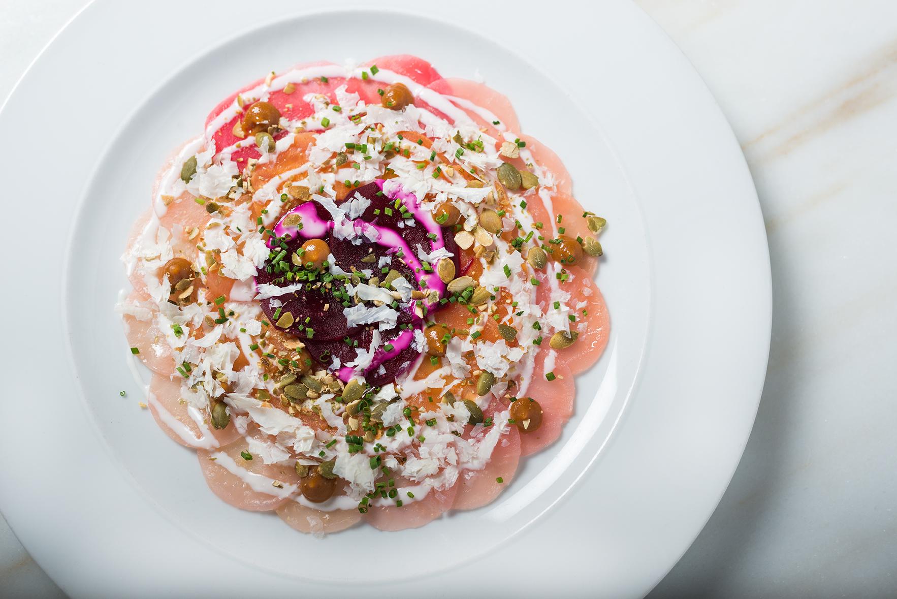 Blink_beet salad overhead