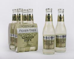 Fever-Tree Ginger Beer and bottles