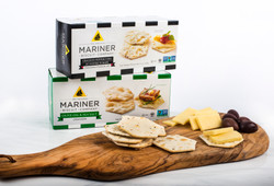 Mariners crackers and cheese board