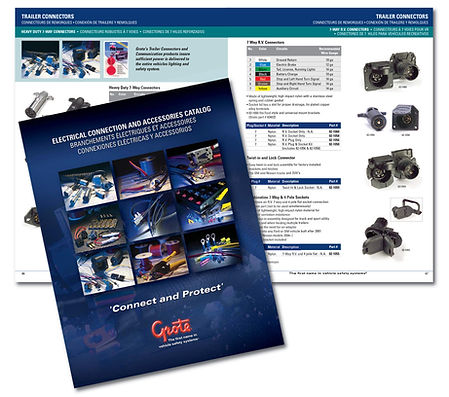 Manufacturer catalog design