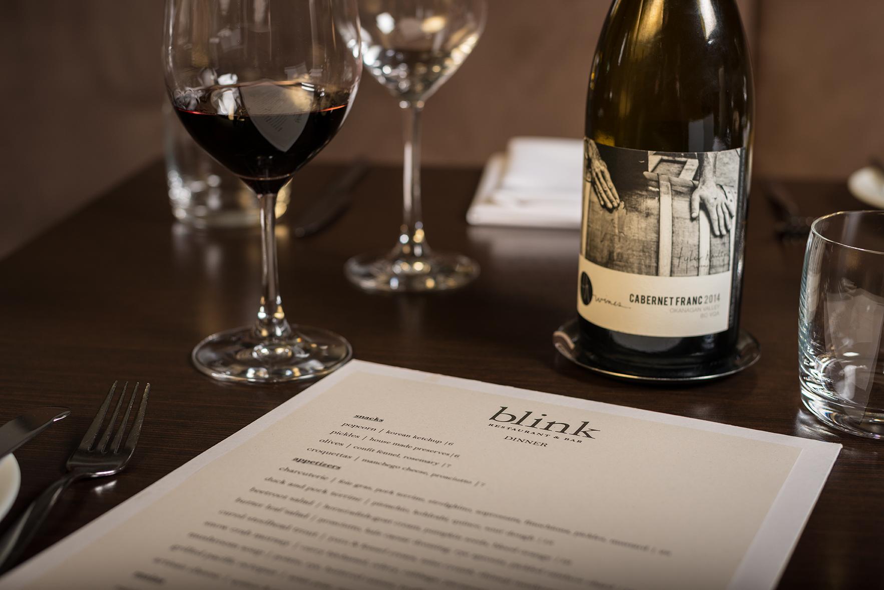 Blink_menu & wine
