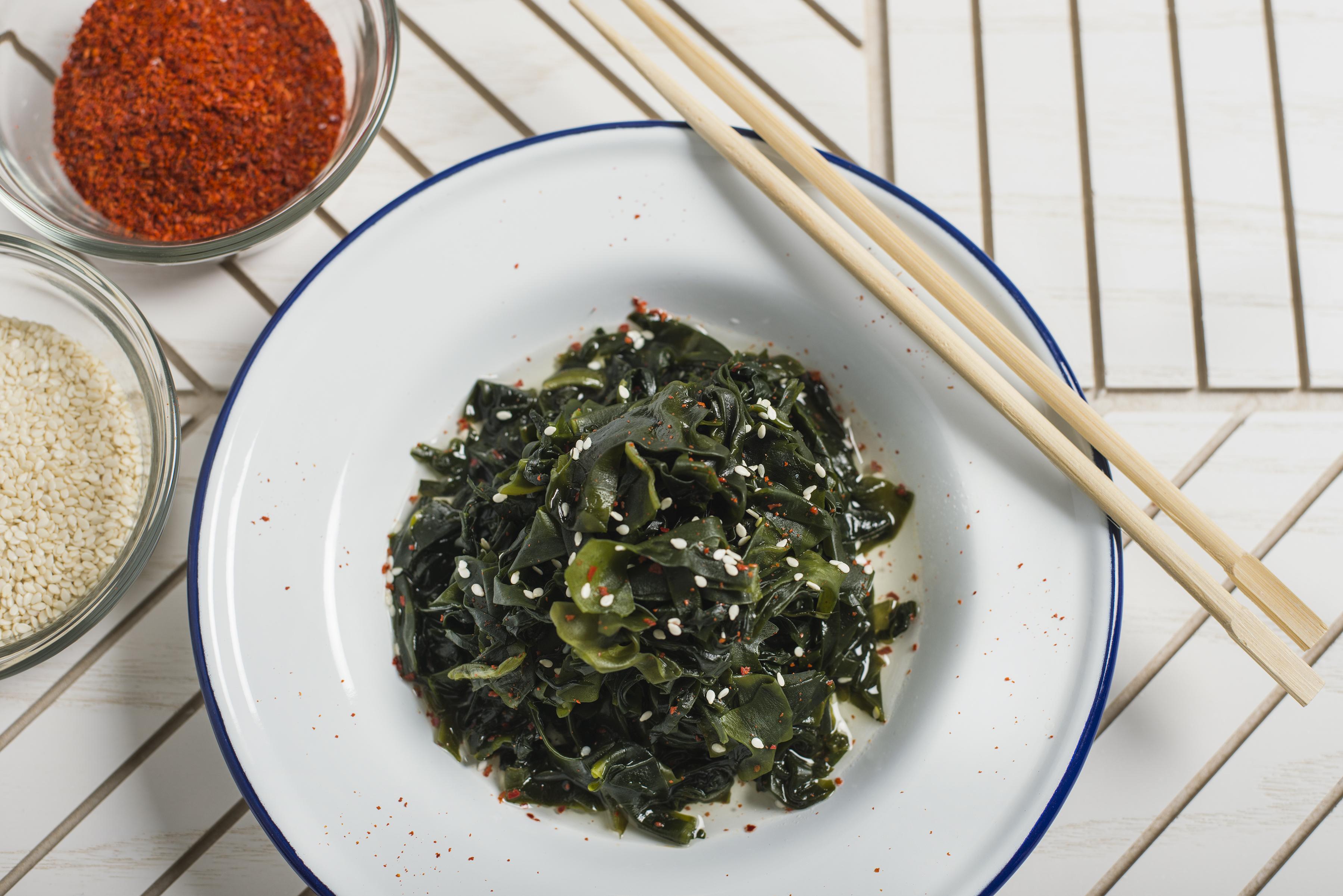 Social Eatery_seaweed salad