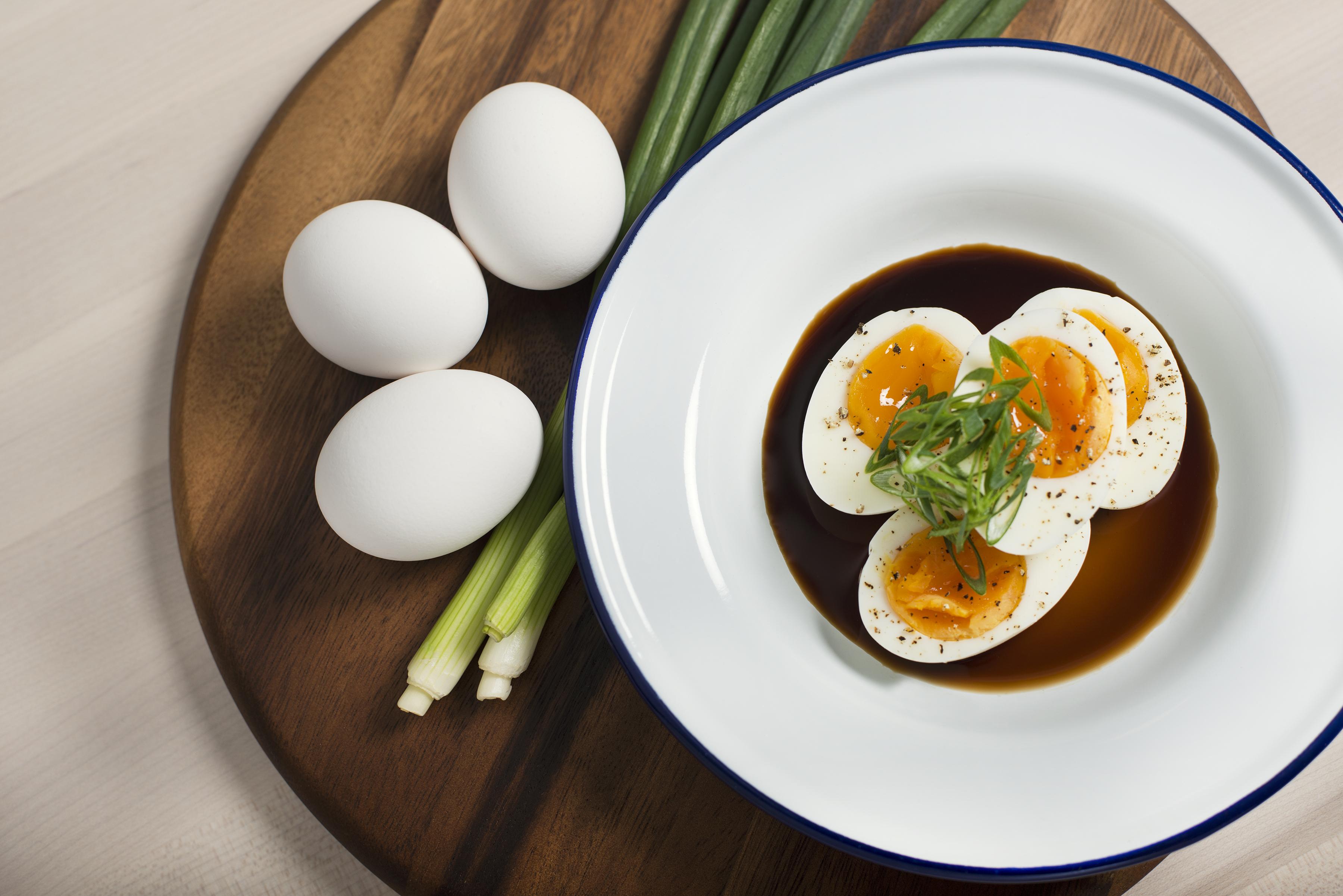 Social Eatery_ eggs trio platter