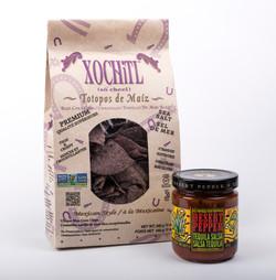 Xochitl Chips & Salsa jar