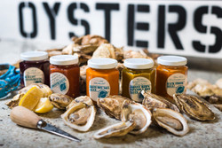 Rodneys_oyster sign & sauces