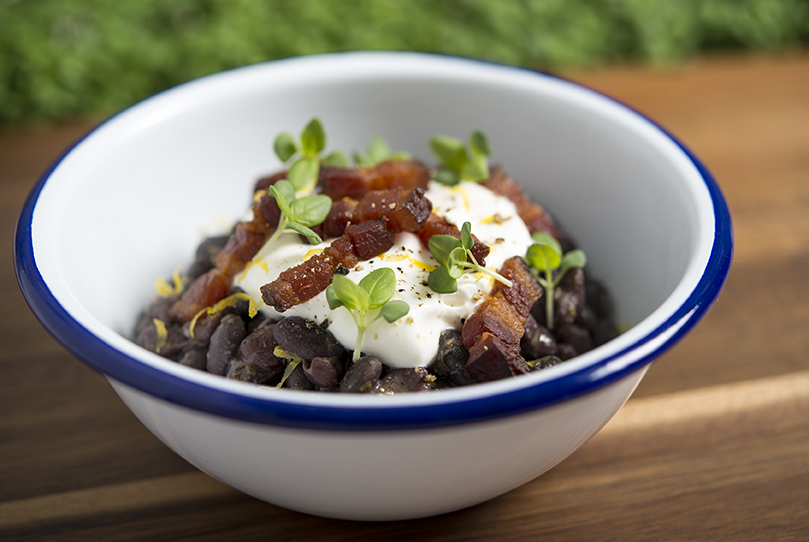 Social Eatery_black beans dish