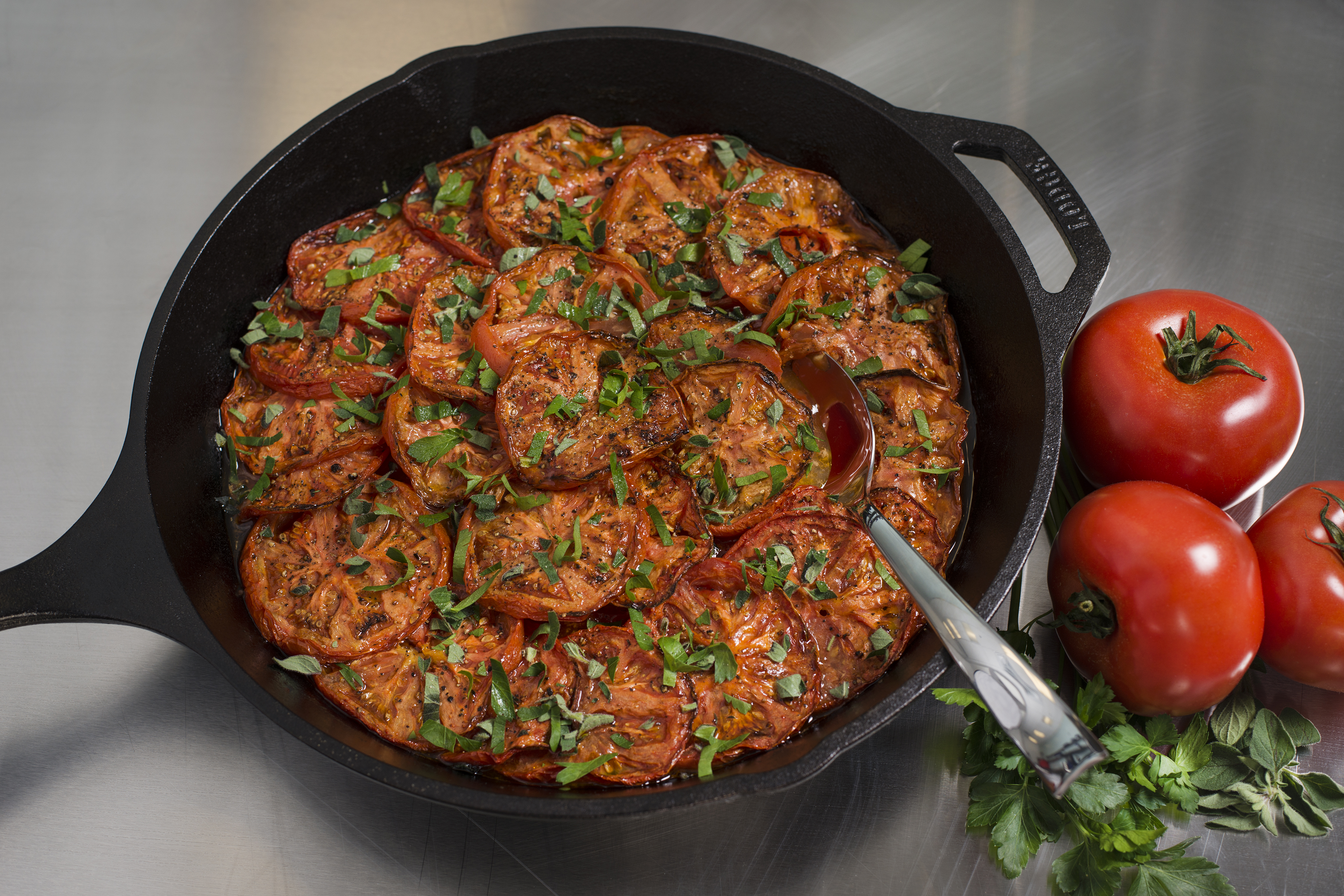 Social Eatery_tomatoes in pan