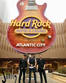 Sonic 5 musicians at the Hard Rock