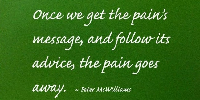 What is PAIN's secret message?