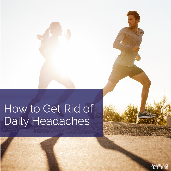 How to get rid of those daily headaches...some simple steps to success.