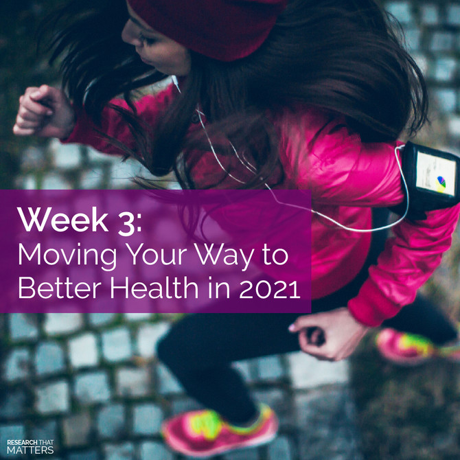 WEEK 3 - Moving Your Way to Better Health in 2021