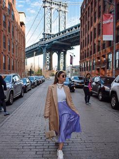 Cliché photo in Dumbo, Brooklyn. - Entre