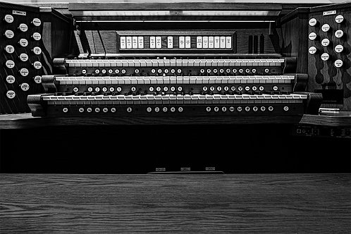 """Church Organ"" Prints"