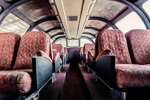 """""""Antique Bus Seats"""" Prints"""