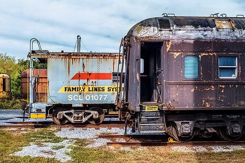 """The Train Yard"" Prints"