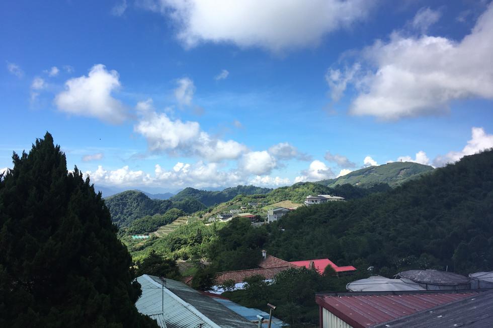 維納斯景觀雙人房陽台風景