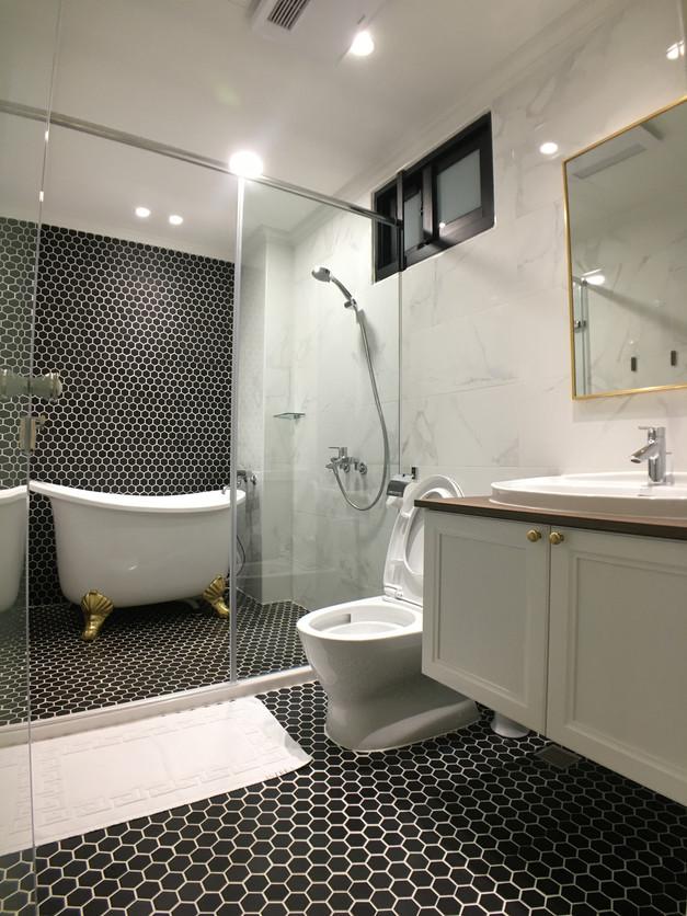 阿波羅景觀雙人房浴室