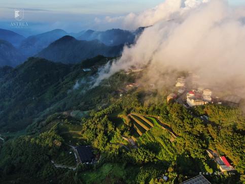 感謝旅客提供空拍照-巃頭雲海