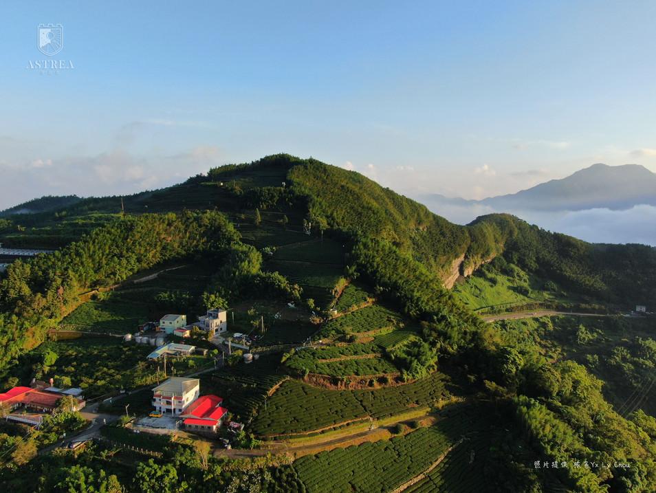 感謝旅客提供空拍照-巃頭坪山