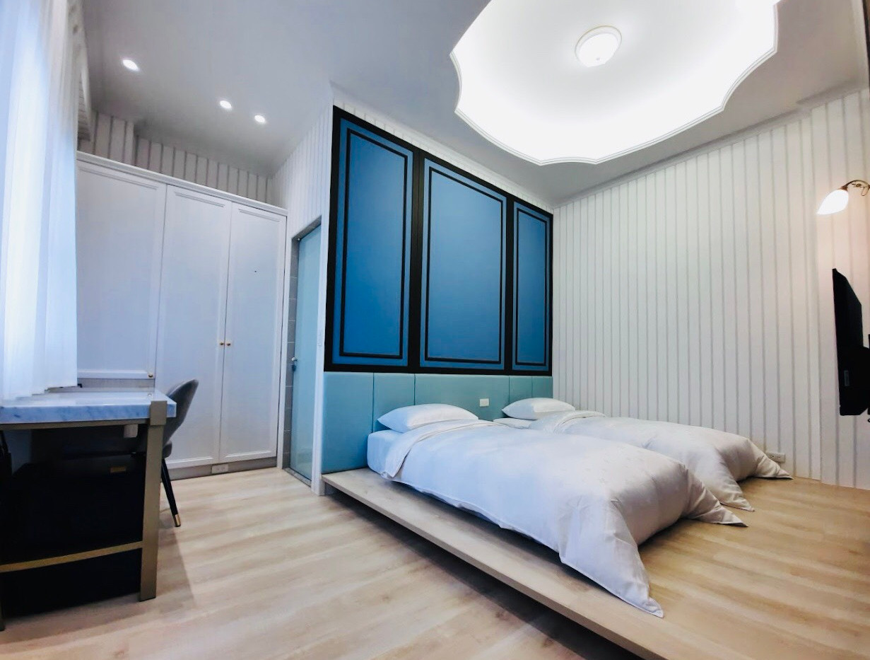波塞頓雙床房