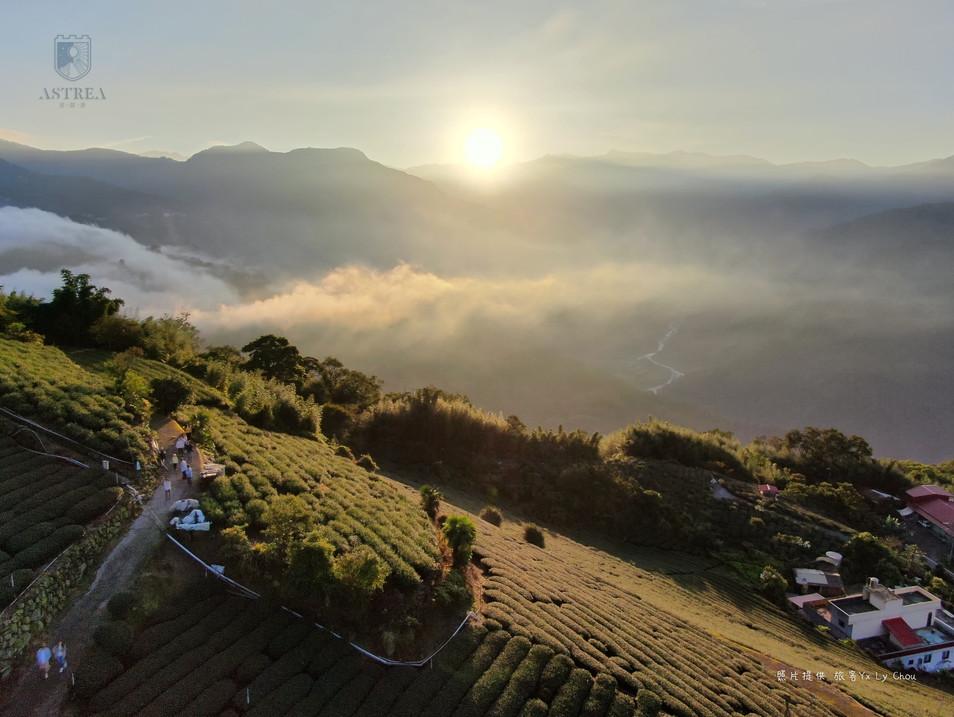 感謝旅客提供空拍照-Astrea星晨堡日出