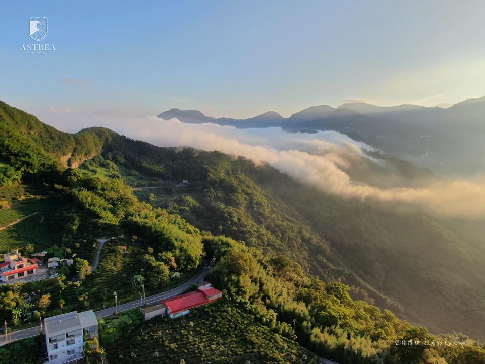 感謝旅客提供空拍照-阿里山雲海