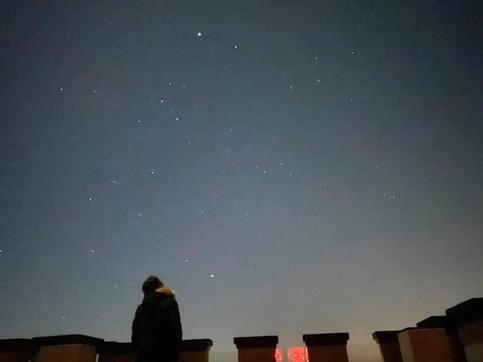 The starry sky of ASTREA.