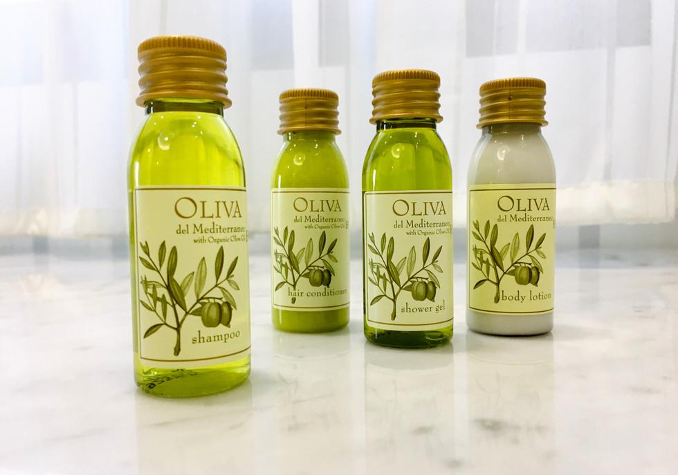 Oliva橄欖油沐浴組