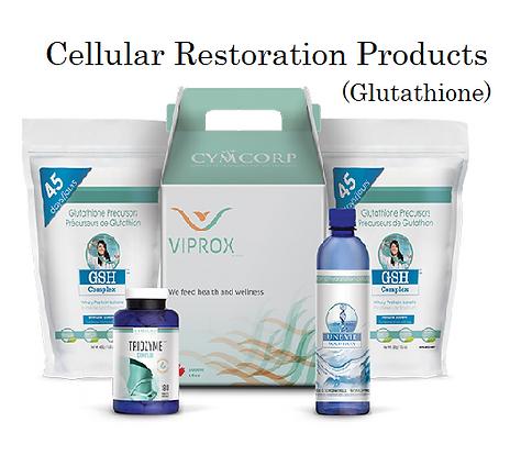 Viprox Glutathione cellular restoration immune system builder supplements une vie cellular hydration structured water Triozyme digetive supplemnent GSH Complex protien powder