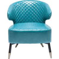 turquise cocktail chair