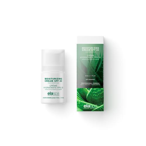Elaspa Moisturizing Cream SPF 20 - 50ml