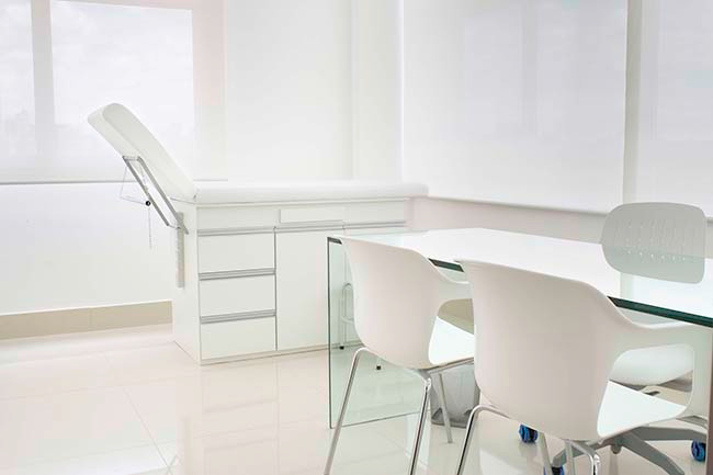 sample treatment room
