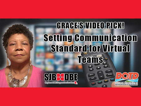 Grace's Video Pick: Setting Communication Standard for Virtual Teams