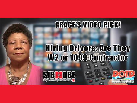Grace's Video Pick: Hiring Drivers - Are they W2 or 199 Contractor?