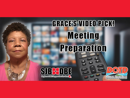 Grace's Video Pick: Meeting Preparation