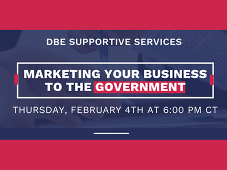 """Did you miss our webinar on """"Marketing Your Business to the Government?"""""""