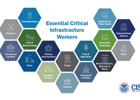 """""""Stay At Home"""" - Essential Critical Infrastructure Workers"""