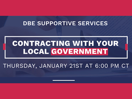 "Did you miss our webinar on ""Contracting with Your Local Government?"""