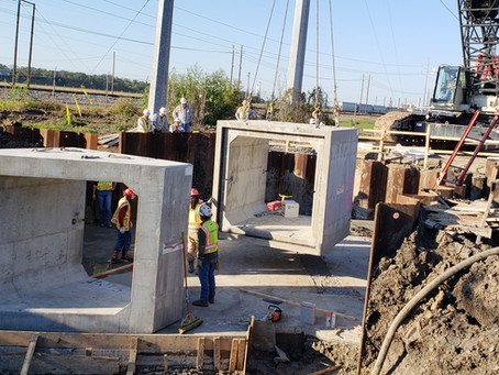 Geotechnical Engineering and Testing for Mainline Railroad Spur Bridge Replacement