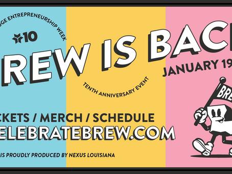 Baton Rouge Entrepreneurship Week is January 19-21!