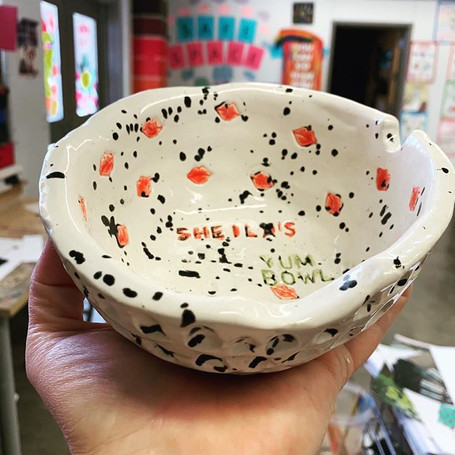 My cereal bowl. Can't wait to do this wi