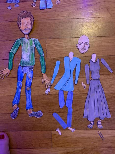Freyr and Alia Puppets II