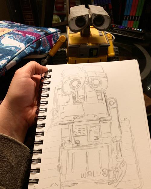 Wall-e sketch