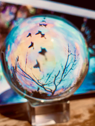 photo of my new crystal ball