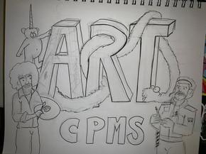 Making of Art Club Logo