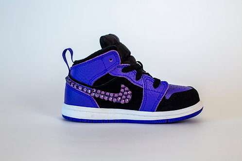Black and Purple Toddler Jordan