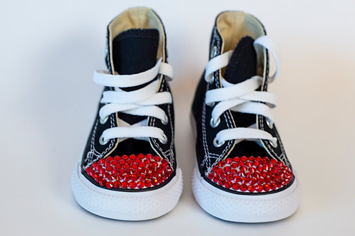 Black & Red Infant/Toddler Converse