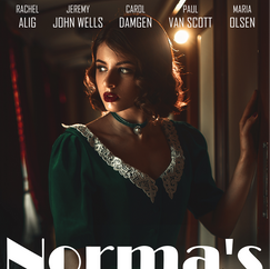 Norma's Sun Poster Mock-Up